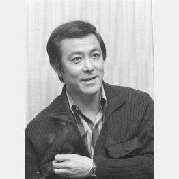 田宮二郎さんは享年43で亡くなった(C)共同通信社