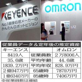 キーエンスとオムロン タッチレス支える電機2社の待遇比較