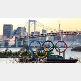 すべては東京五輪のため?(C)日刊ゲンダイ
