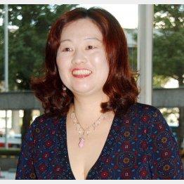 感染症や公衆衛生学の専門家、白鴎大教育学部の岡田晴恵教授(C)共同通信社
