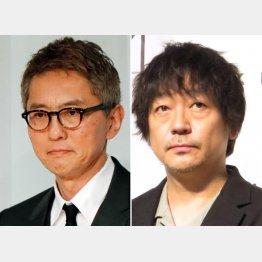 松重豊(左)と大森南朋(C)日刊ゲンダイ