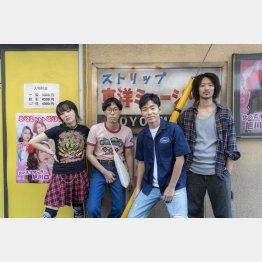 映画『ロックンロール・ストリップ』/(C)木下半太・小学館タッチアップエンターテインメント