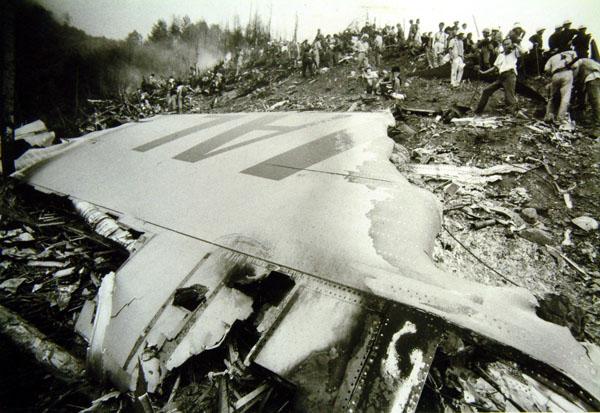 123 事故 便 墜落 航空 日本
