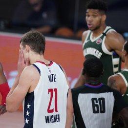 NBAスター選手のアデトクンボ 頭突き退場で罰金2000万円
