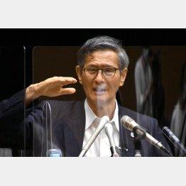 検査拡大に慎重な尾身茂分科会会長(C)日刊ゲンダイ