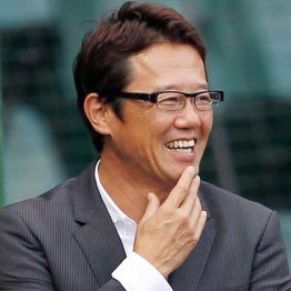 元ヤクルト監督の古田敦也氏