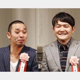 千鳥のノブ(右)と大悟(C)日刊ゲンダイ