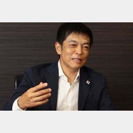 イノベーションの富田直人社長(C)日刊ゲンダイ
