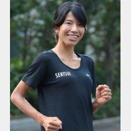 東京五輪 女子長距離代表候補の新谷仁美選手(C)日刊ゲンダイ