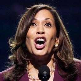 米民主党の副大統領候補に正式指名されたカマラ・ハリス上院議員