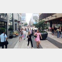 2020年の夏は国内で買い物を楽しむ(スウェーデン・ストックホルムの街)/(提供写真)