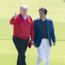 岸信介は米国で始球式 未完に終わった安倍首相の祖父超え