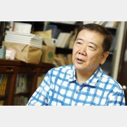 鴻上尚史氏(C)日刊ゲンダイ