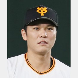 4打席連続本塁打の記録を逸した坂本勇人(C)日刊ゲンダイ