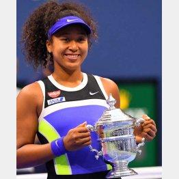 全米オープンで2年ぶりの優勝(C)ロイター/USA TODAY Sports