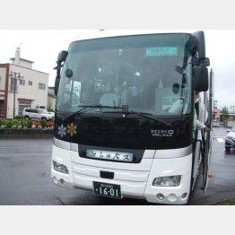 富良野~新得は代行バスを利用(提供写真)
