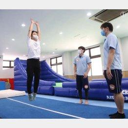 しっかりジャンプできること(C)日刊ゲンダイ