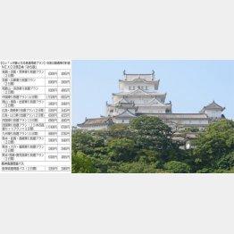 ドライブ旅で姫路城へ(NEXCO西日本提供)