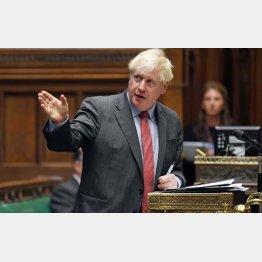 英国は金融の世界では最古参だが…(ジョンソン英首相)/(C)ロイター/英国議会提供