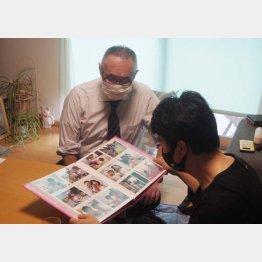 加藤さん(右)と小川氏(C)日刊ゲンダイ