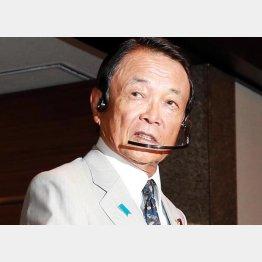 政界では有名な話(麻生財務相)/(C)日刊ゲンダイ