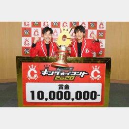 「ジャルジャル」の福徳秀介(右)と後藤淳平(提供写真)