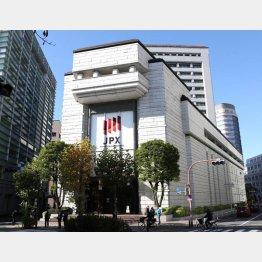 東京証券取引所(C)共同通信社
