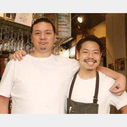 ギョバーの菊地博さん(左)と金内友弥さん(C)日刊ゲンダイ