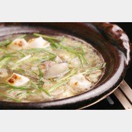 すっぽん鍋(提供写真)