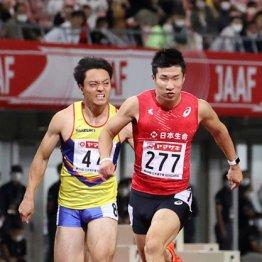 桐生100m6年ぶりVも平凡タイムで遠のくサニブラウンの背中