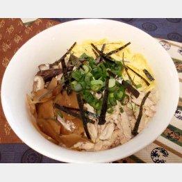奄美の郷土料理の鶏飯(C)日刊ゲンダイ