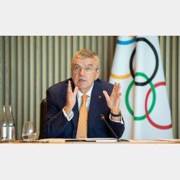 IOCバッハ会長も「ワクチン全員配布」と大風呂敷(C)ロイター