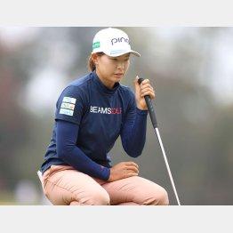 「メジャー勝者の名が恥ずかしい」と渋野(C)ロイター/USA TODAY Sports