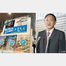 今さら「名簿は見ていない」と菅首相、GoToで潤うのは大手だけ(C)共同通信社