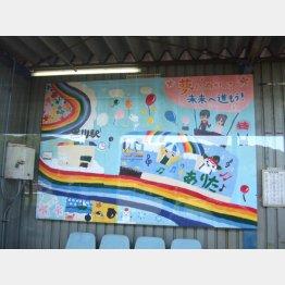 松浦鉄道沿線の児童が寄せたイラスト(C)日刊ゲンダイ