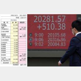 株式投資は高リスク(C)日刊ゲンダイ
