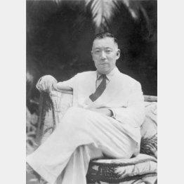 徳川義親は右翼、左翼の両陣営と交流を持っていた(1942年=昭和17年7月24日撮影)/(C)共同通信社