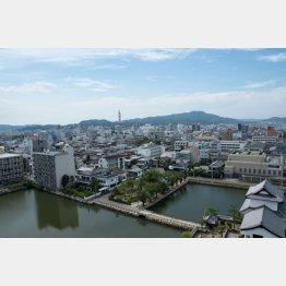 愛媛県の今治市(C)miyata/アマナイメージズ/共同通信イメージズ
