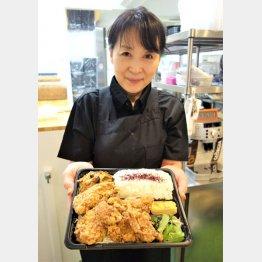 「弁当屋を始めていてよかった」と西村さん(C)日刊ゲンダイ