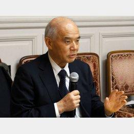 ここにこそ、問題の本質(日本学術会議元会長の大西隆東京大学名誉教授)/(C)日刊ゲンダイ