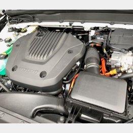 エンジンは180psの1.5リッター直列3気筒ターボ(写真)小沢コージ