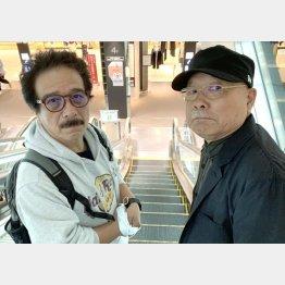 坂田明さん(右)と筆者(C)日刊ゲンダイ