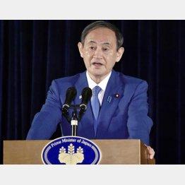 「権力への恐れを知らない」(初外国訪問の成果説明をする菅首相)/(C)共同通信社