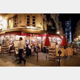 仏パリは再び夜間の外出禁止(C)ロイター