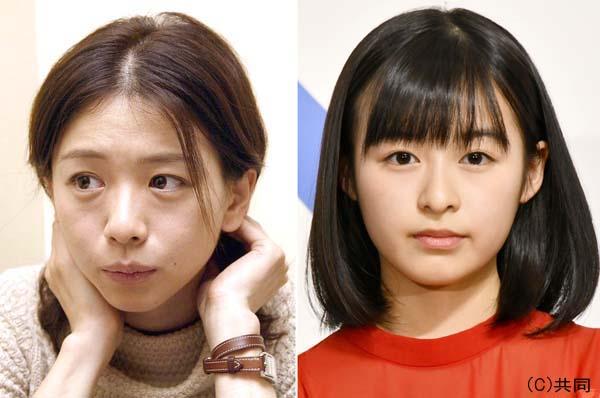 裕木奈江(左)そっくり?(C)日刊ゲンダイ