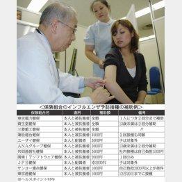 ワクチン不足で予防接種の予約が困難な状態に…(C)共同通信社