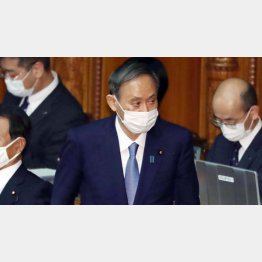 菅首相は法律が「想定していない」任命拒否を強行したことになる(C)日刊ゲンダイ