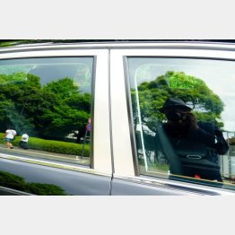 後席窓枠にアルミプレートを配する(写真)小沢コージ