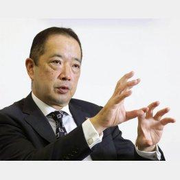 高島屋の村田善郎社長(C)共同通信社