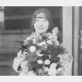 関谷敏子は明治天皇の皇后を美声で感嘆させた(日本電報通信社撮影)